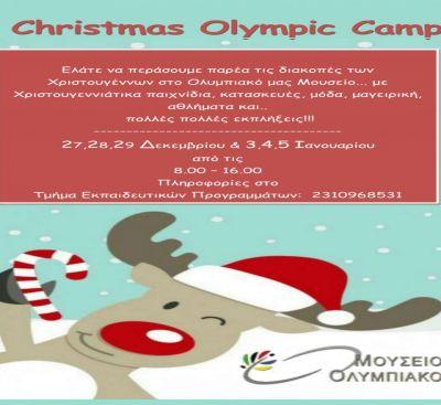 CHRISTMAS OLYMPIC CAMP!